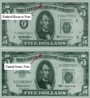 cinco dolares