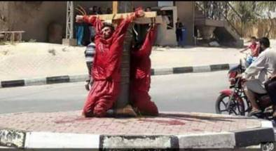 cristianos crucificados