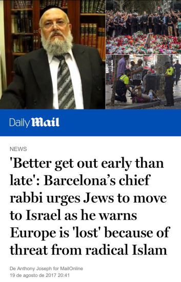 rabbi urges jews move to israel