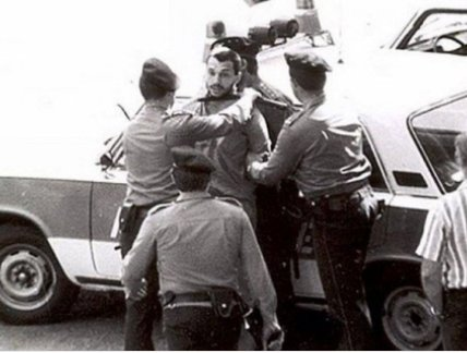 This is Viktor Orban being arrested by the Soviet Communist police in 1987.