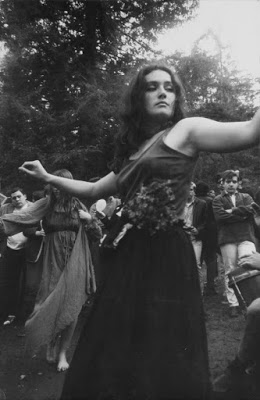 hippie girl dancing 1967